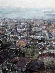 ANTONIO SANNINO was born in 1959 in Naples and lives and works between Rome and his home town. Blow Paint, Mind Blown, Rome, City Photo, Art Pieces, In This Moment, Landscape, Abstract, Gallery