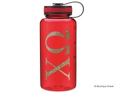 ChiO Classic Letter Water Bottle