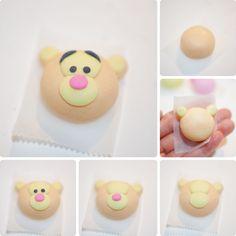 How I Make Winnie The Pooh Inspired Rice Dumplings