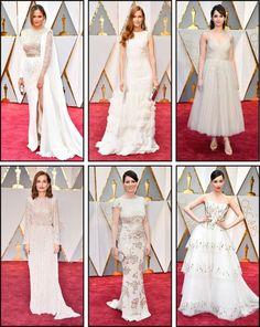 Oscar 2017 red carpet white dresses Chrissy Teigen Oscars 2017 Red Carpet, White Carpet, White Dress, Dresses, White Rug, White Dress Outfit, Vestidos, Dress, Dressers