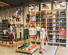 Levi's store by MBH Architects, New York store design