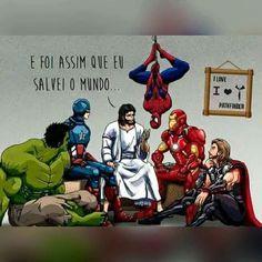"""#BoaNoite """"Ainda a salvação..."""" #JesusCristo """" salvei o mundo sem usar nenhum tipo de força, ..."""