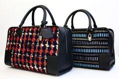 "The iconic Loewe ""Amazona"" bag collaborates with Japanese brand JUNYA WATANABE COMME des GARÇONS"