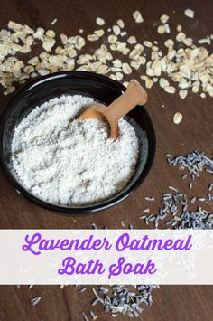 This easy to make and ultimately relaxing lavender oatmeal bath soak is just what you need to destress after a long day or work week. Get the recipe today! Oatmeal Bath, Tasty, Yummy Food, Relaxing Bath, Bath Soak, Beauty Recipe, Recipe Today, Bath Salts, Food Videos