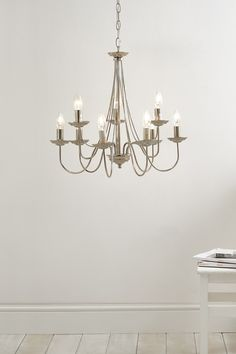 Bernadette 9 Light Chandelier | BHS