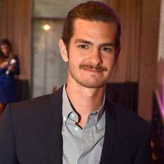 Pin for Later: Andrew Garfield Is Rocking a New Mustache
