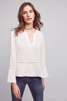 Cloth & Stone Ladder Lace Henley