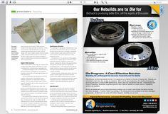 Gloucester Engineering's Die Rebuild Program.  Ad can be found here:  http://content.yudu.com/A2ooi6/FilmAndSheetJanFeb14/resources/index.htm?referrerUrl