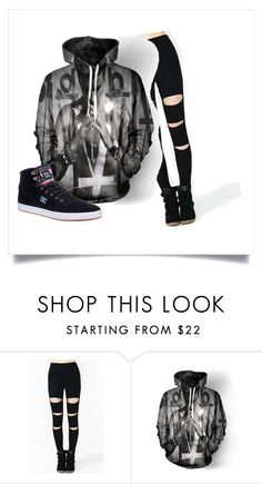 justin bieber by tristaandres on Polyvore featuring DC Shoes
