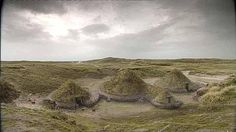 The Prehistoric Village @ Cladh Hallan Mummification in Bronze Age Britain… Vernacular Architecture, Ancient Architecture, Frankenstein, Outer Hebrides, Round House, Iron Age, Rare Photos, Science Nature, Archaeology