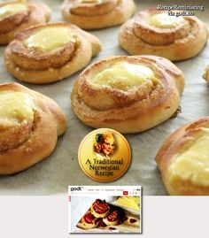 """Sunshine Buns/ Solskinnsboller - The inspiration for the """"Boiled Cream Treat"""" in Skyrim"""