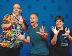 """Us with Billy Boyd (Pippin from """"Lord of the Rings""""!) at Wizard World Chicago 2017."""
