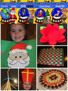 Christmas Around The World! Lots of fabulous crafts and activities for your classroom! $