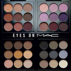 The NEW Eyes on MAC Eye Shadow Palettes- Review