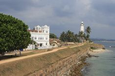"""""""Sri Lanka's southern coast, [especially on] either side of the old city of Galle, has everything you need for a romantic getaway—including chic boutique hotels, uncrowded beaches, wildlife sanctuaries (wild elephants and leopards), ancient temples, and great food"""