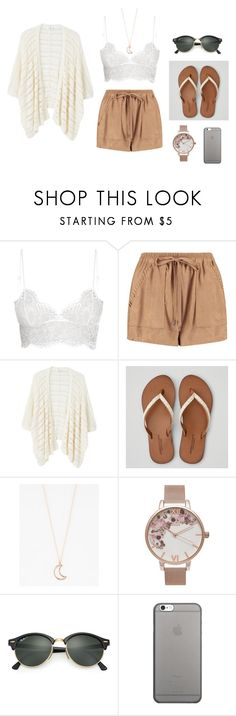 """where are you now?"" by vintagepearls3 ❤ liked on Polyvore featuring Boohoo, MANGO, American Eagle Outfitters, Full Tilt, Olivia Burton, Ray-Ban and Native Union"