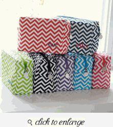 Chevron Spa Bag - Bridesmaid Gift Ideas - Bridesmaid Gifts Cheap - Bridesmaid Gifts Unique