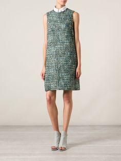 Dolce & Gabbana Bouclé Shift Dress - Verso - Farfetch.com