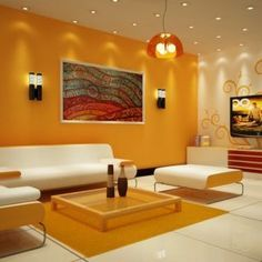 A color design can set the tone for your living room. Find a ...