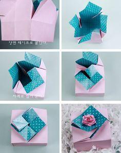 Beautiful Gift Box- paper craft