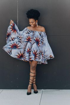 Ankara Dress African Clothing African Dress African Print
