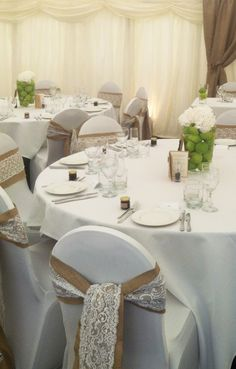 chair covers for weddings basingstoke black chairs sale 39 best truly scrumptious images in 2019 bridal bouquets wedding s with rustic hessian and lace sashes set up you 2 10 www trulyscrumptiousweddings co uk