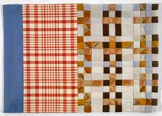 Louise Bourgeois, Untitled, 2003  Woven fabric  27.9 x 40.6 cm / 11 x 16 in