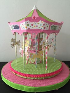 A personal favorite from my Etsy shop https://www.etsy.com/listing/237958549/carousel-centerpiece
