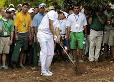 Bubba Watson The Amazing Shot on the 2nd Hole Playoff 2012 Masters