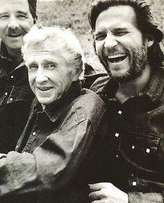 Beau,Lloyd and Jeff Bridges . .  grew up watching their dad on 'Sea Hunt' . . . have always like all three men's work.