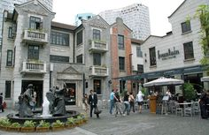 Xintiandi Shopping Complex, Shanghai...great shopping, fabulous food