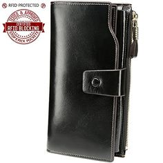 Luxury Soft Leather Ladies Purse Wallet Photo Space Card Holder in Gift Box*