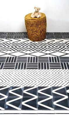 Kelim Tile by Mats Theselius * Source : apartmenttherapy.com * credits image not found