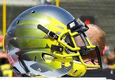 2013 Oregon Spring Football Helmet
