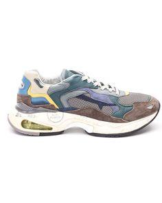 Premiata Sharky Sneakers In Multicolor Man Shoes, Shoes Sneakers, Sneakers Multicolor, Trainers, Wolf, Kicks, Footwear, Sign, Mens Fashion