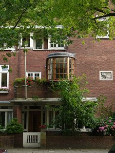 Housing in South Amsterdam by H. P. Berlage.
