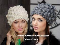 Domain Default page Knitting Designs, Knitting Patterns, Knit Crochet, Crochet Hats, Bandana, Crochet Videos, Knitting For Beginners, Girl With Hat, Hat Making