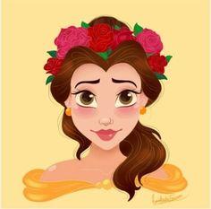Belle Flower Crown