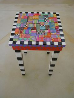 painted table by diane.smith
