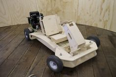 The PlyFly Go-Kart is a flat packed go-kart that can be put together in just a few hours and with the most basic of tools.