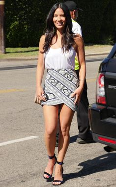 Hair colour ideas for brunettes – My hair and beauty Olivia Munn, Mode Outfits, Fashion Outfits, Sexy Dresses, Short Dresses, Beautiful Legs, Beautiful Celebrities, Sexy Legs, Sexy Women