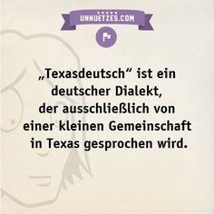 Hier Beispiele und ein Video des Texasdeutsch: http://www.unnuetzes.com/wissen/10946/texasdeutsch/