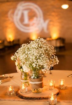 100 Ideas For Amazing Wedding Centerpieces Rustic (57)