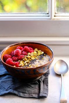 Orange and Cinnamon Spiced Poppy Seed Porridge