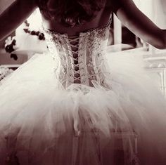 I really have no idea what you would like for a dress, because you change your mind like every other second. But I do know you have a thing for a corset style bodice!