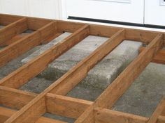 Best Want To Build A Front Deck Over Your Existing Concrete 400 x 300