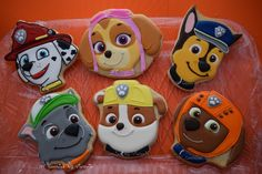 (1) Here it's the whole Gang of Paw Patrol Cookies ,... - NY Cookies By Victoria