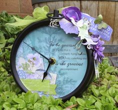Monday Tutorial - Altered Clock