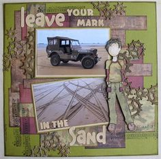 CreativeWorld: LO...Leave your mark in the sand