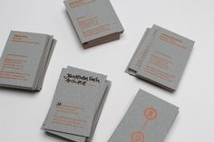 Founded by Jonathan Finch and Rosalind Stoughton in Passport is an independent branding and print design studio based in Leeds, UK, informed and influenced by certain destinations and international design culture. Business Cards And Flyers, Elegant Business Cards, Stationery Design, Branding Design, Business Card Design Inspiration, Grafik Design, Flyer Design, Brand Identity, Landscape Design